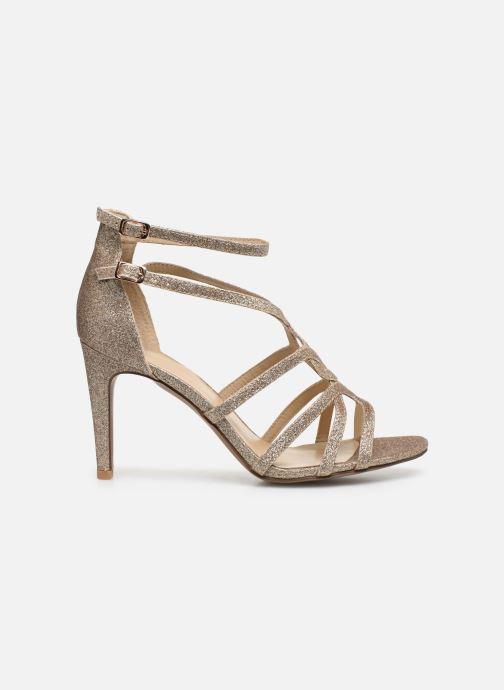 Sandales et nu-pieds Minelli F93 602/GLI Or et bronze vue derrière