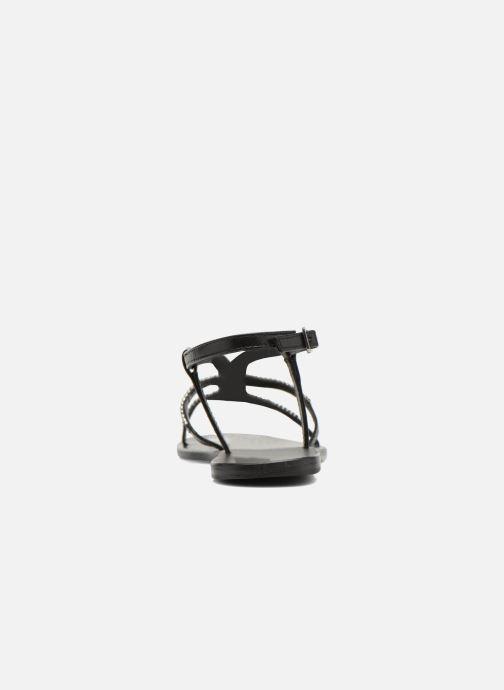 Sandales et nu-pieds Minelli F63 802 Noir vue droite