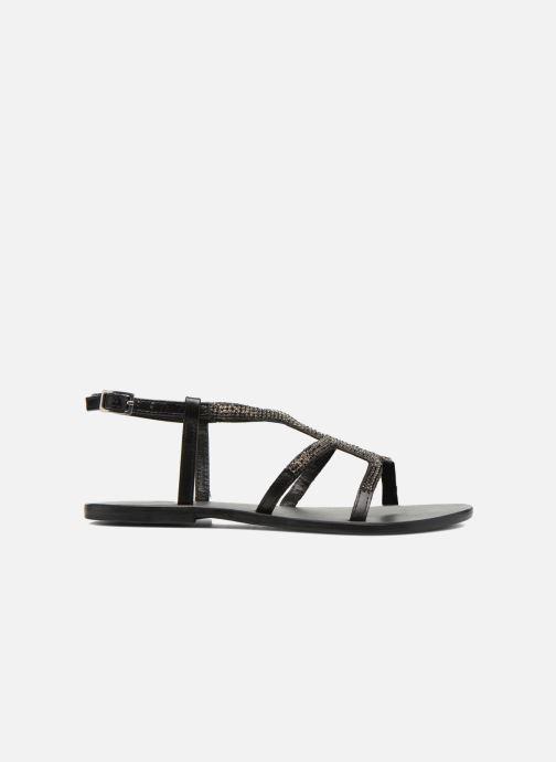 Sandales et nu-pieds Minelli F63 802 Noir vue derrière