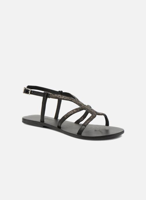 Sandales et nu-pieds Minelli F63 802 Noir vue détail/paire