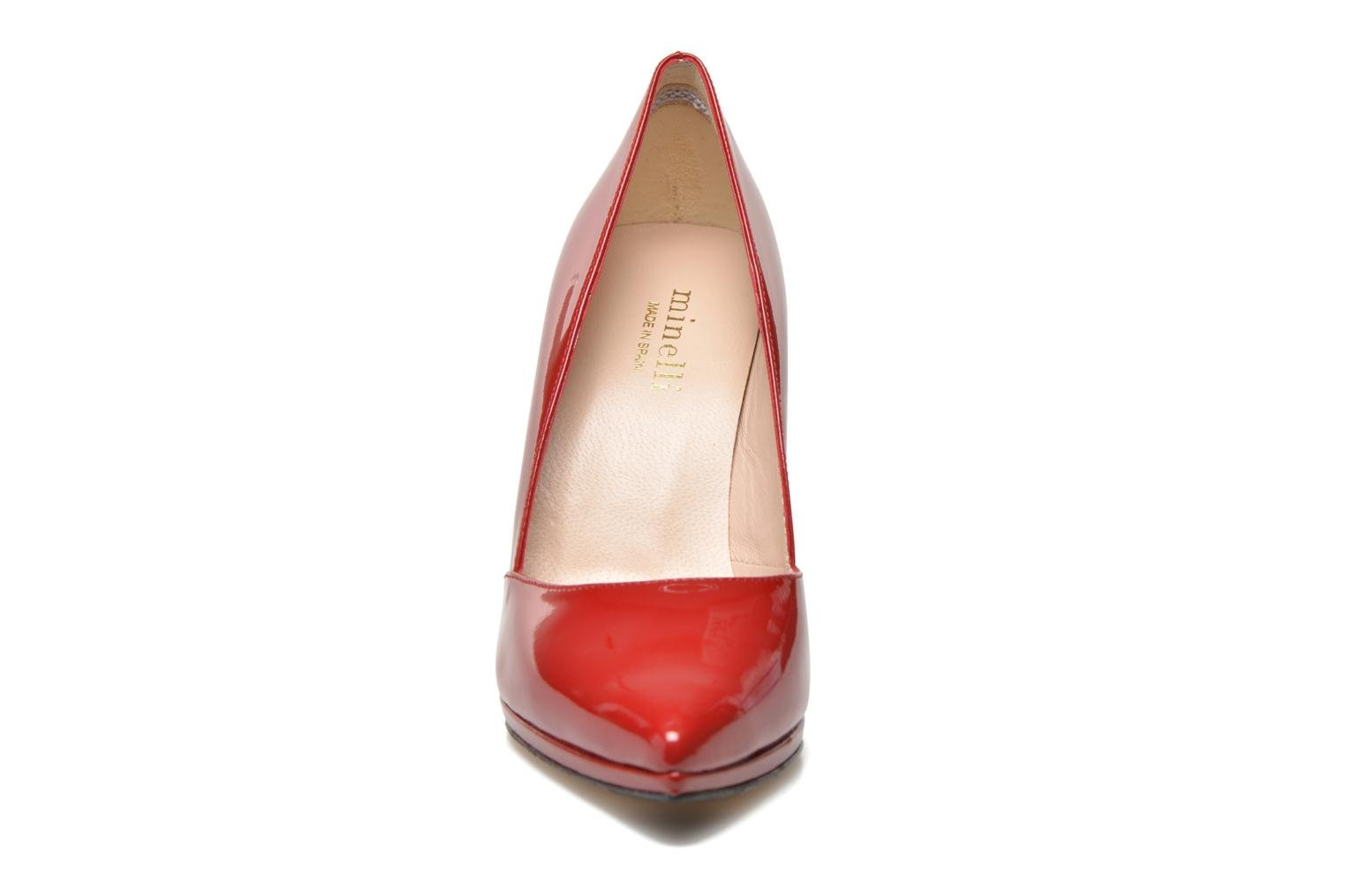 High heels Minelli F91 610/VER Red model view