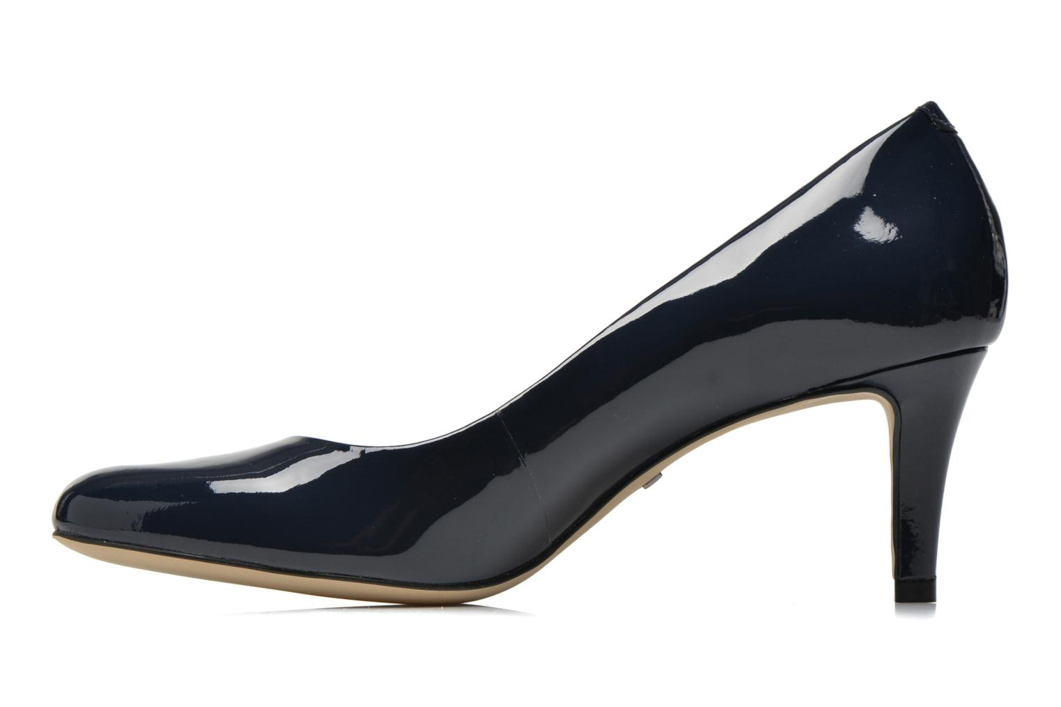 High heels Minelli F91 400/VER Blue front view