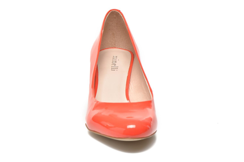 Escarpins Minelli F91 400/VER Orange vue portées chaussures