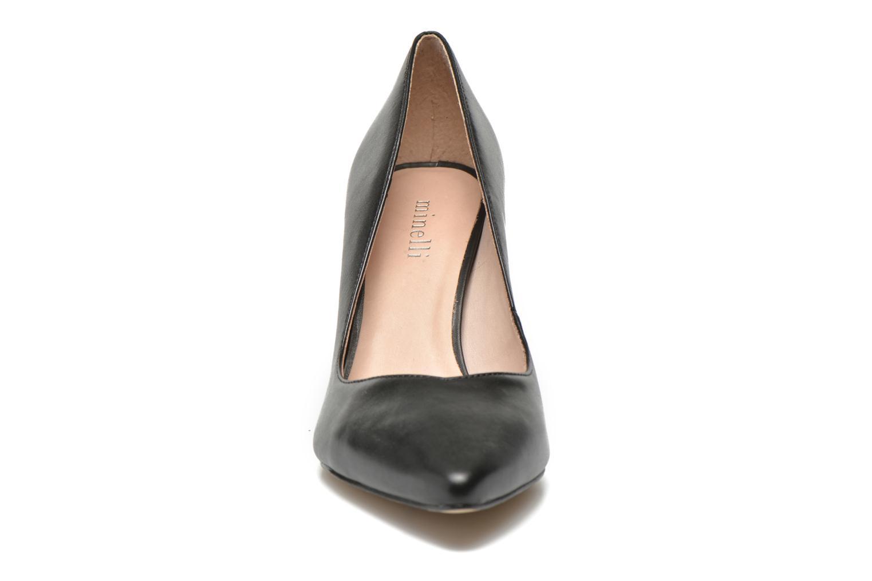 Escarpins Minelli F91 800 Noir vue portées chaussures