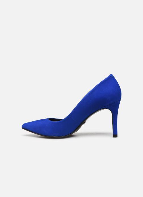 Zapatos de tacón Minelli F91 401/NUB Azul vista de frente