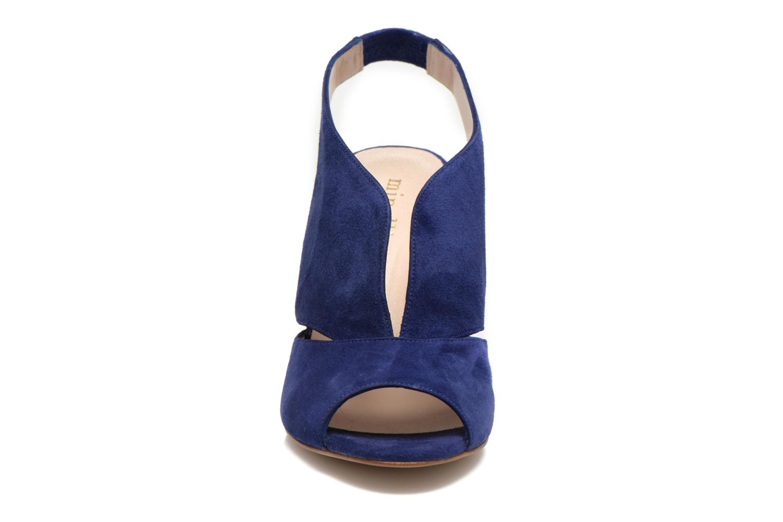 Sandalen Minelli F93 276/VEL blau schuhe getragen
