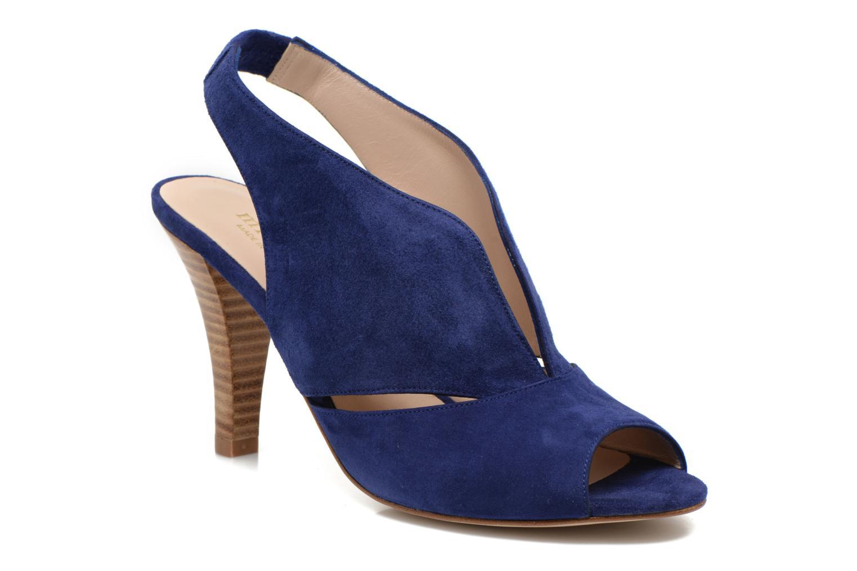 Sandales et nu-pieds Minelli F93 276/VEL Bleu vue détail/paire