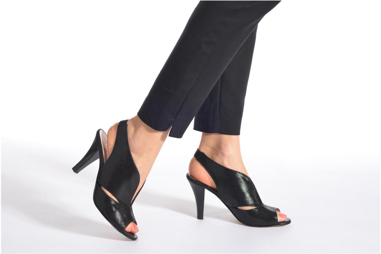 Sandales et nu-pieds Minelli F93 276/IMP Noir vue bas / vue portée sac