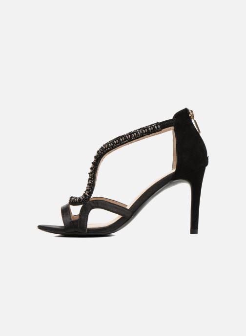 Sandales et nu-pieds Minelli F93 635/SAT Noir vue face