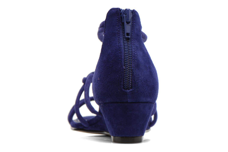 Sandales et nu-pieds Minelli F63 820/VEL Bleu vue droite