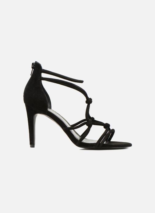 Sandales et nu-pieds Minelli F93 847/VEL Noir vue derrière