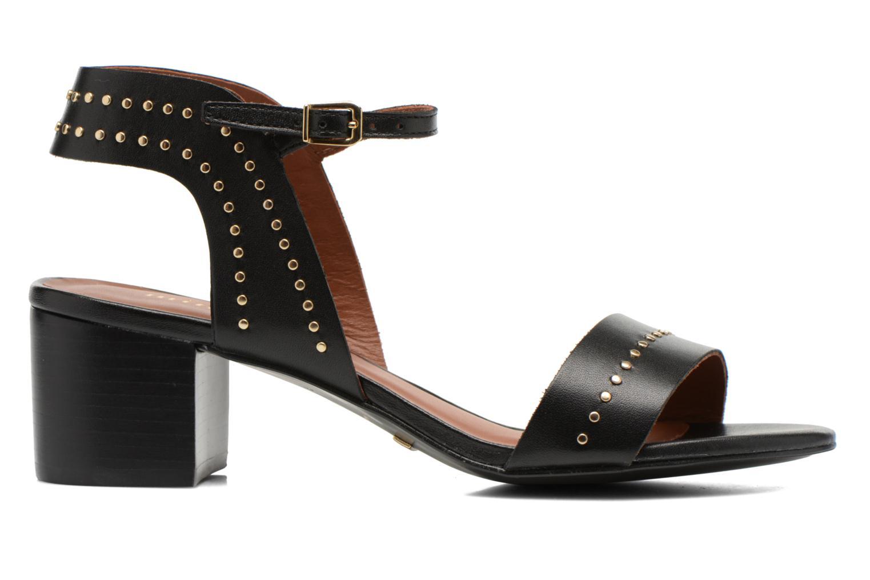 Sandales et nu-pieds Minelli F93 840 Noir vue derrière