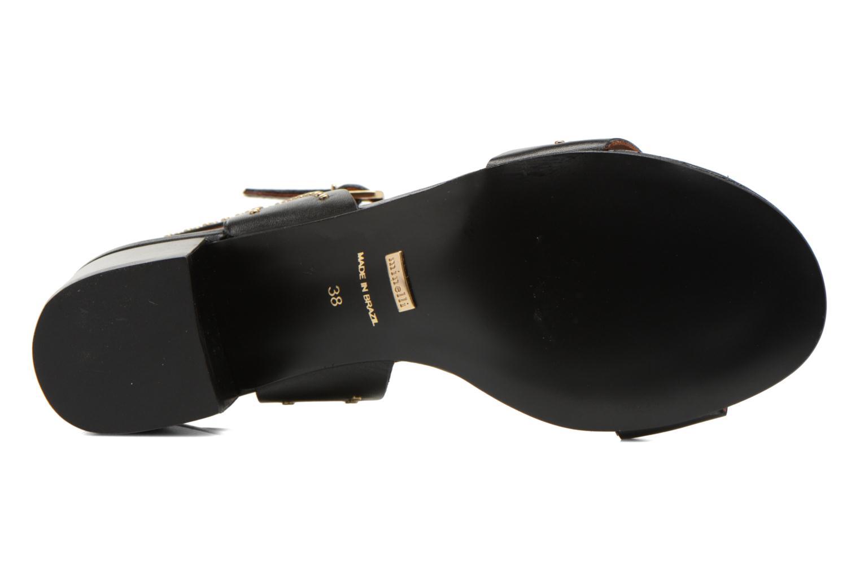 Sandales et nu-pieds Minelli F93 840 Noir vue haut