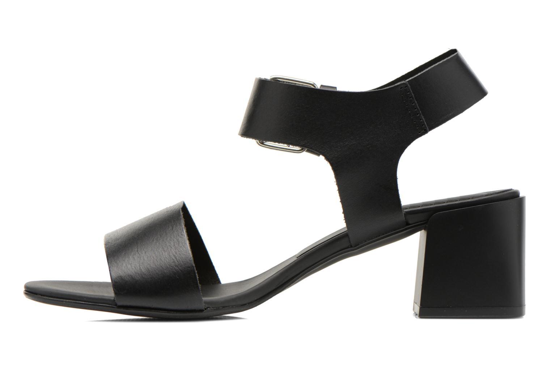Sandales et nu-pieds Minelli F93 879 Noir vue face