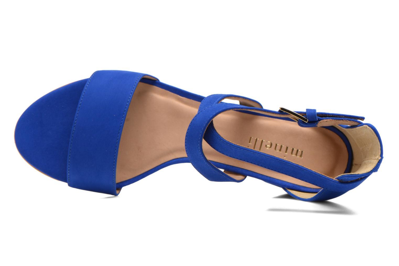 Sandali e scarpe aperte Minelli F93 830/NUB Azzurro immagine sinistra