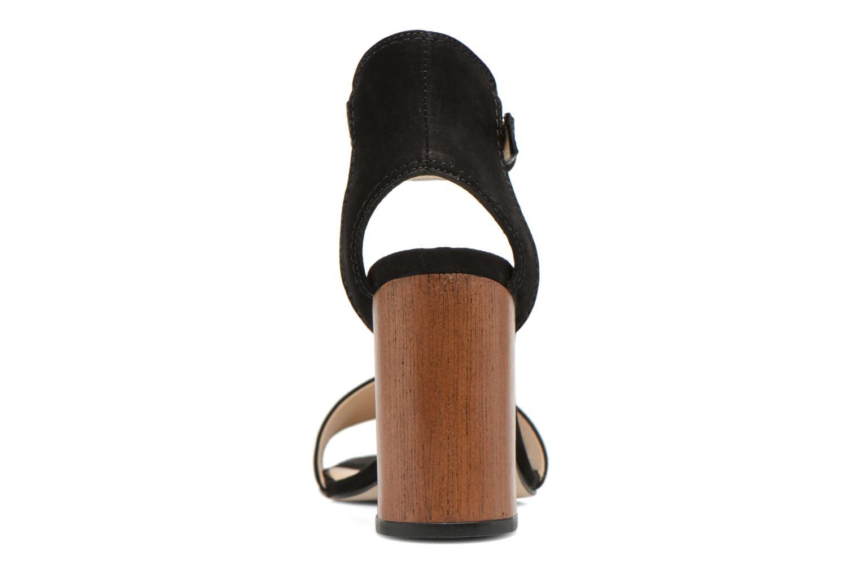 Sandales et nu-pieds Minelli F93 860/NUB Noir vue droite