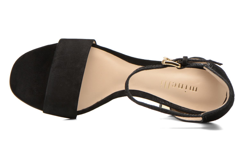 Sandales et nu-pieds Minelli F93 860/NUB Noir vue gauche