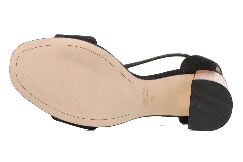 Sandales et nu-pieds Minelli F93 860/NUB Noir vue haut