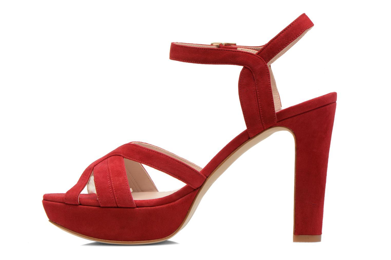 Sandali e scarpe aperte Minelli F93 688/VEL Rosso immagine frontale