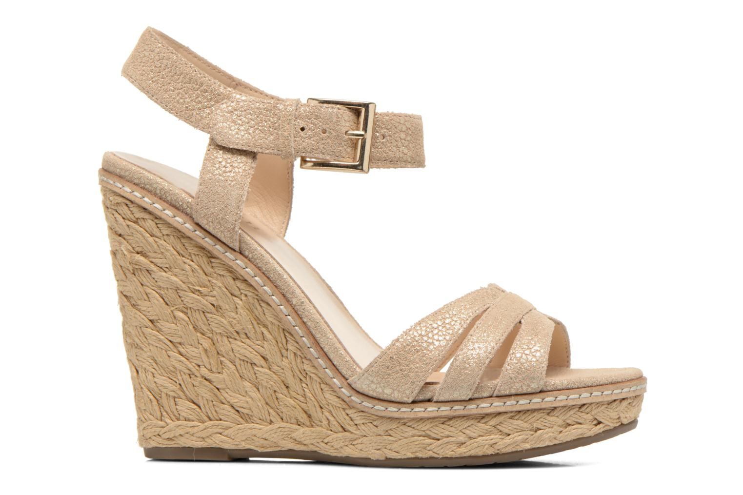 Sandals Minelli F93 819/MET Beige back view