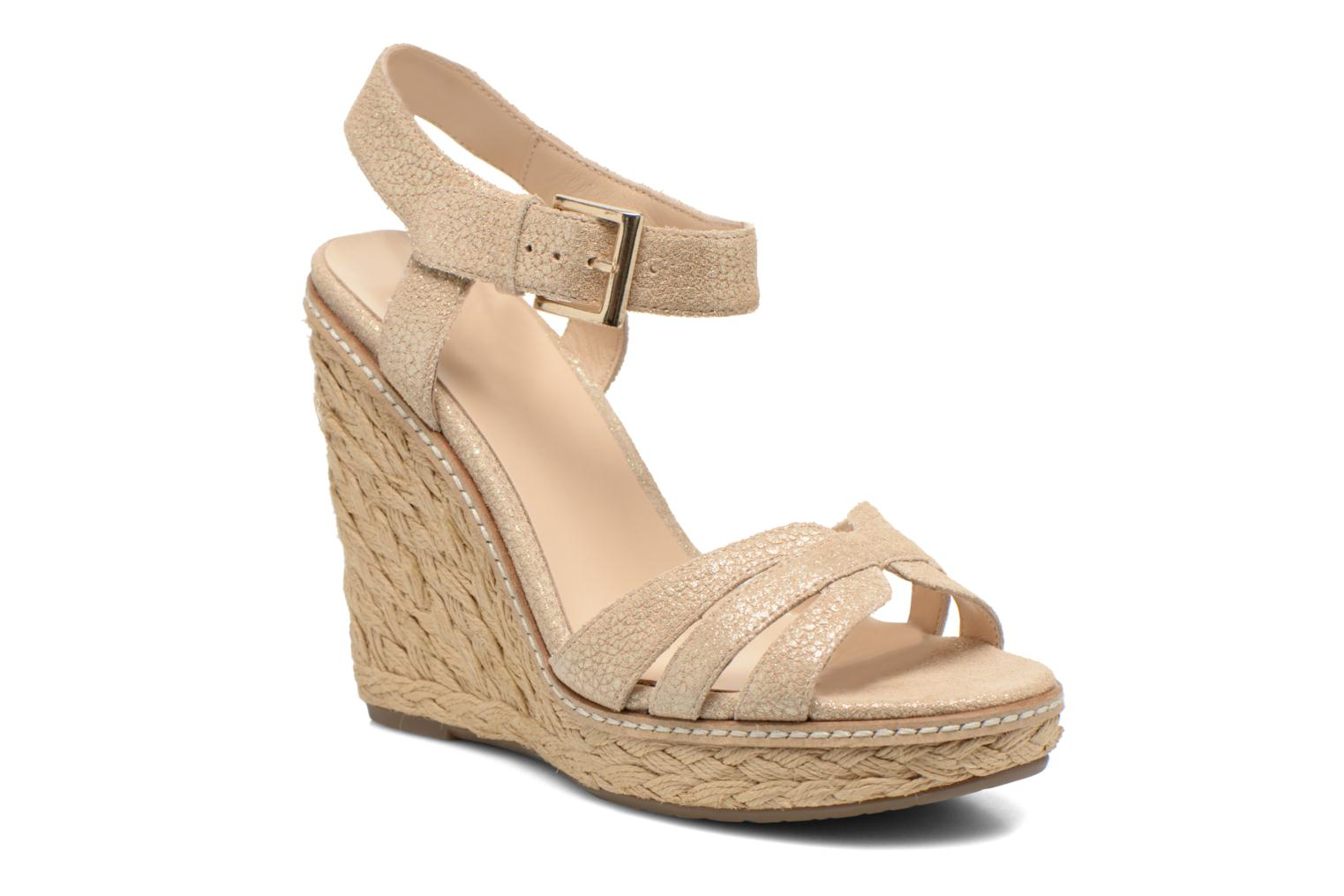Sandals Minelli F93 819/MET Beige detailed view/ Pair view