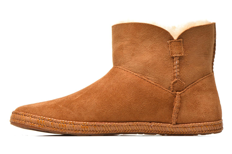 Boots en enkellaarsjes UGG K Wyoming Bruin voorkant