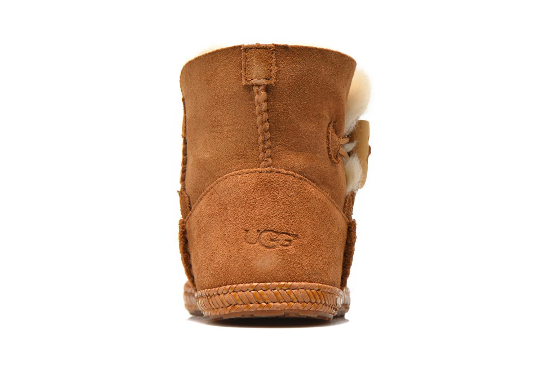 Boots en enkellaarsjes UGG K Wyoming Bruin rechts