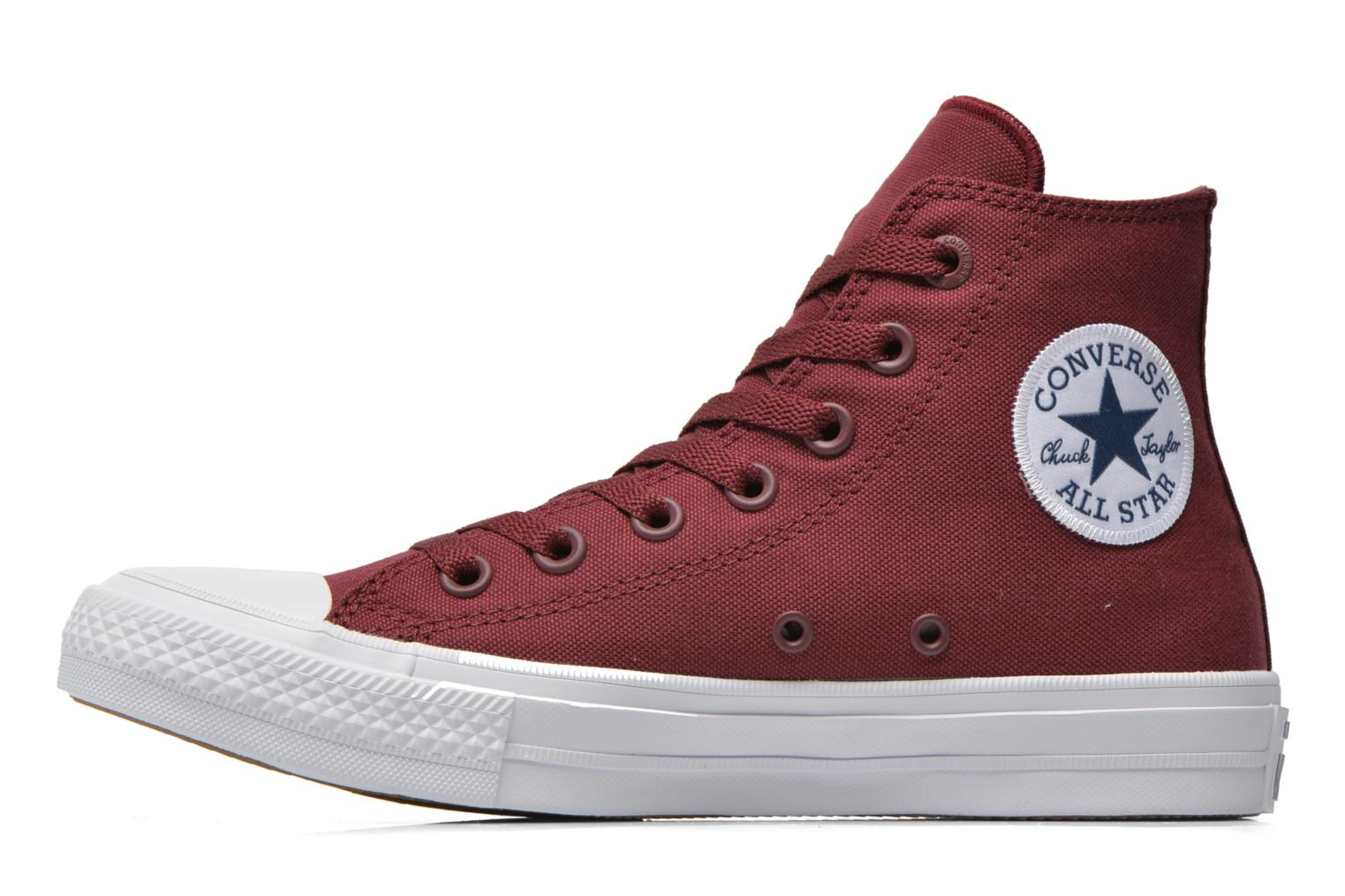 Trainers Converse Chuck Taylor All Star II Hi W Burgundy front view