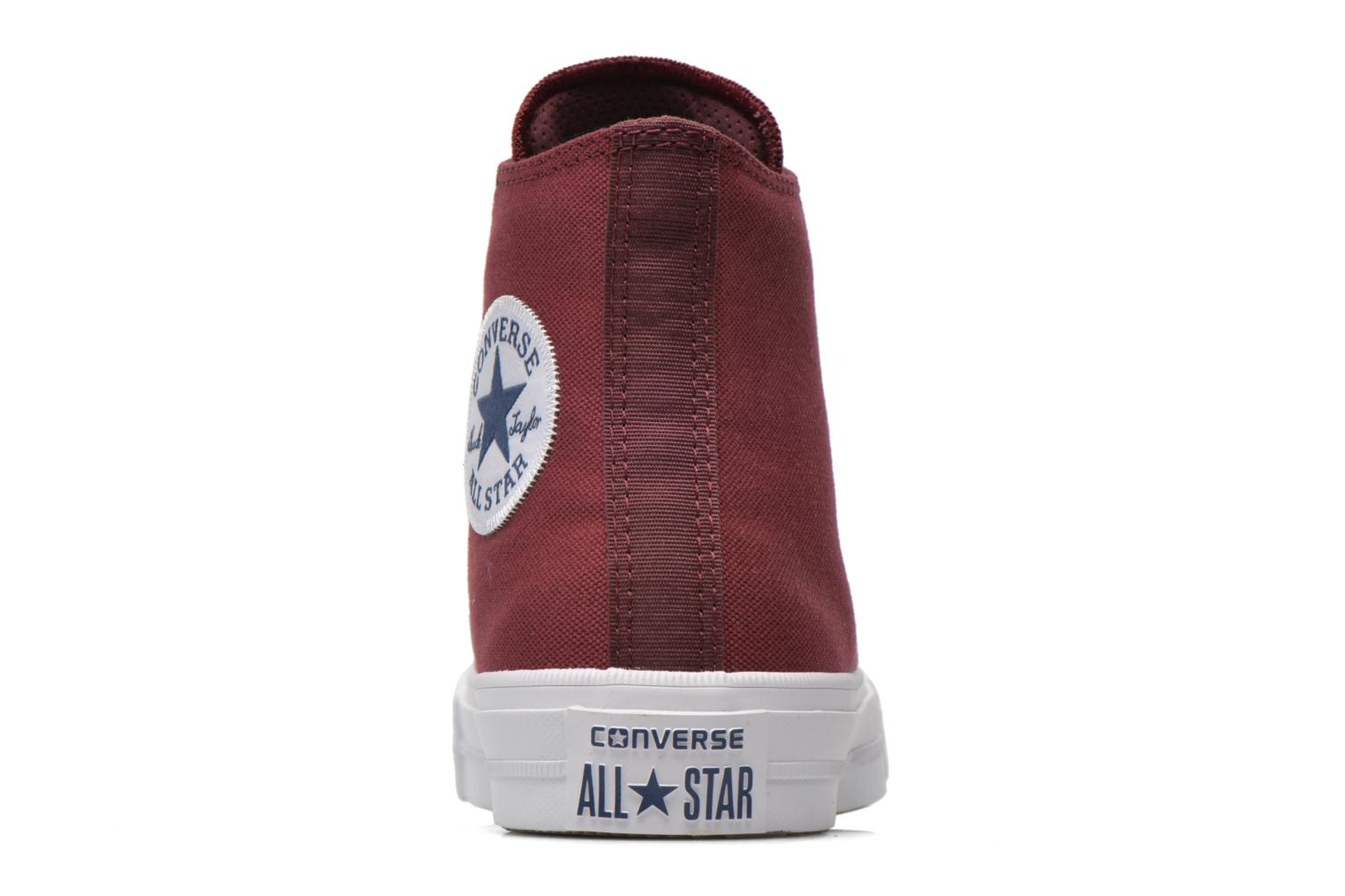 Trainers Converse Chuck Taylor All Star II Hi W Burgundy view from the right