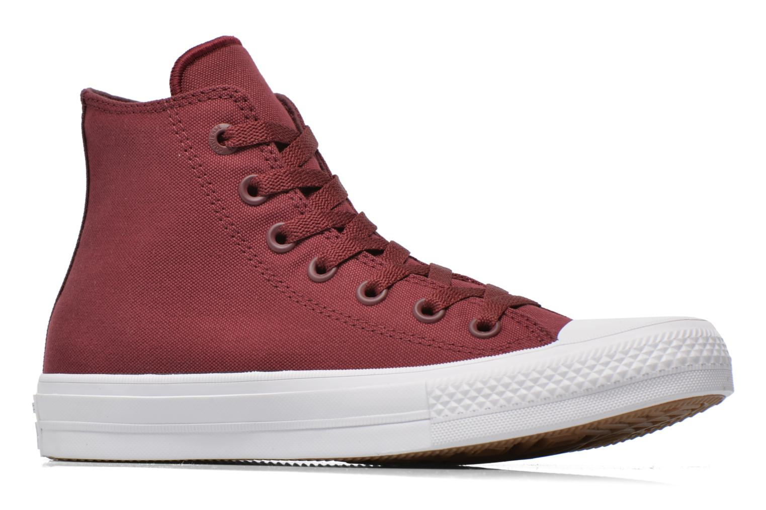 Trainers Converse Chuck Taylor All Star II Hi W Burgundy back view