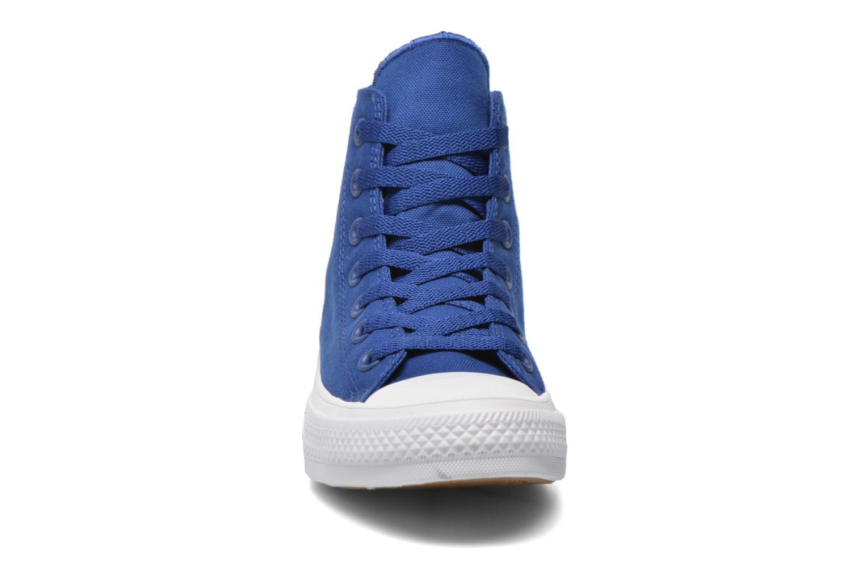 Baskets Converse Chuck Taylor All Star II Hi W Bleu vue portées chaussures