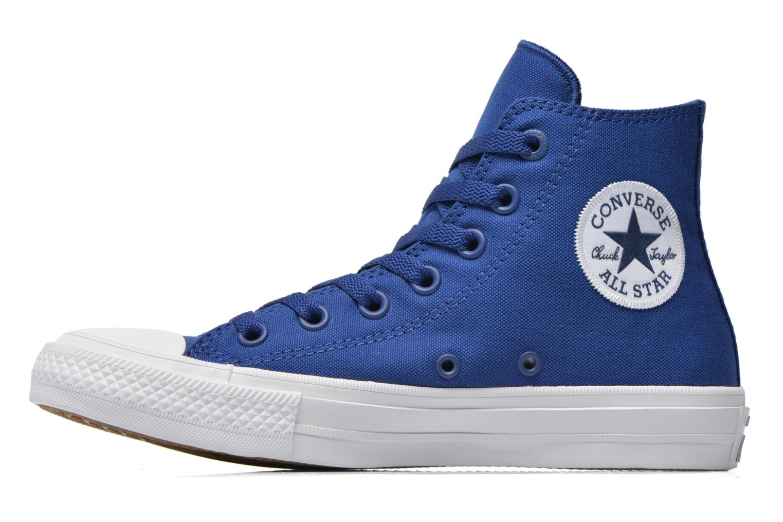 Baskets Converse Chuck Taylor All Star II Hi W Bleu vue face