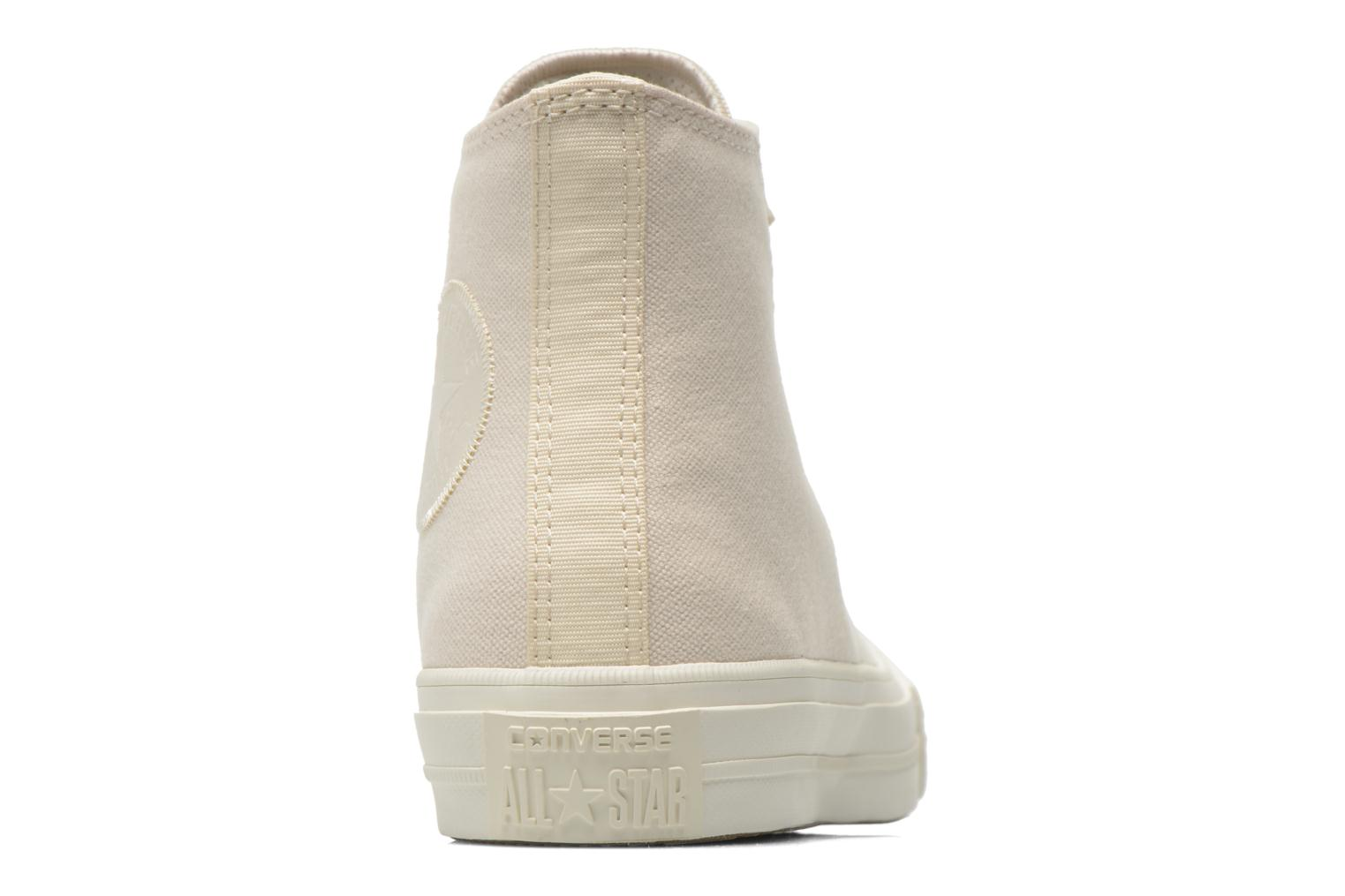 Trainers Converse Chuck Taylor All Star II Hi W Beige view from the right
