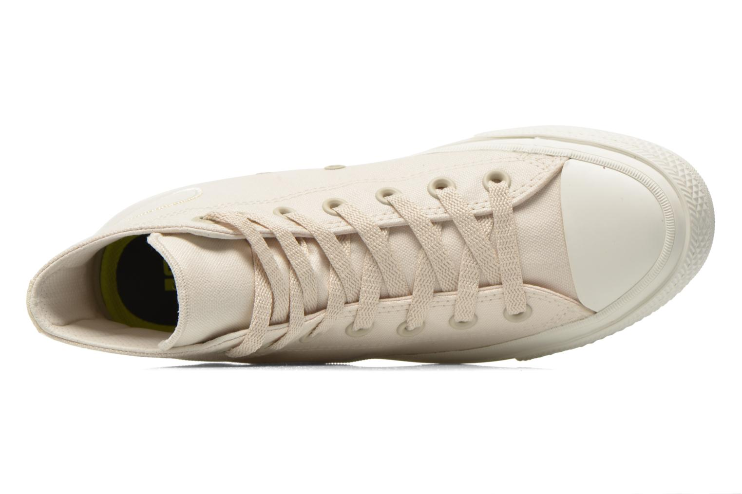 Trainers Converse Chuck Taylor All Star II Hi W Beige view from the left