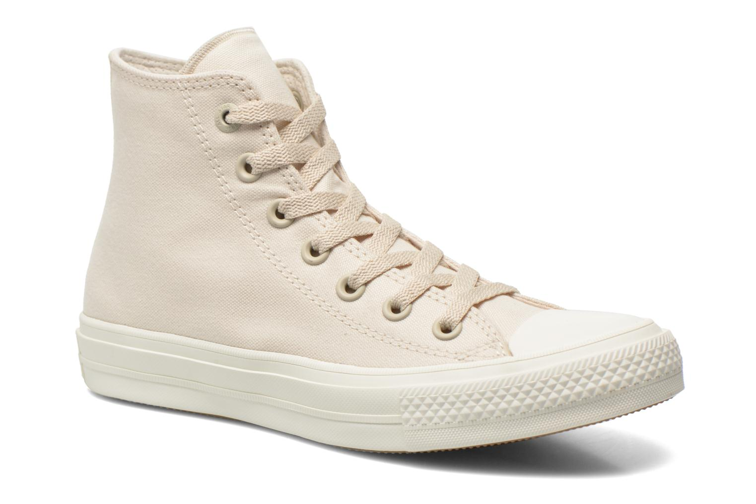 Trainers Converse Chuck Taylor All Star II Hi W Beige detailed view/ Pair view
