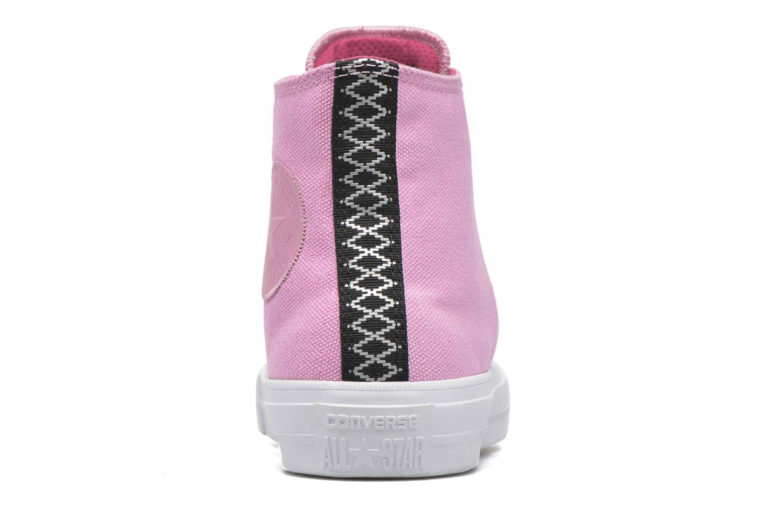 Baskets Converse Chuck Taylor All Star II Hi W Rose vue droite