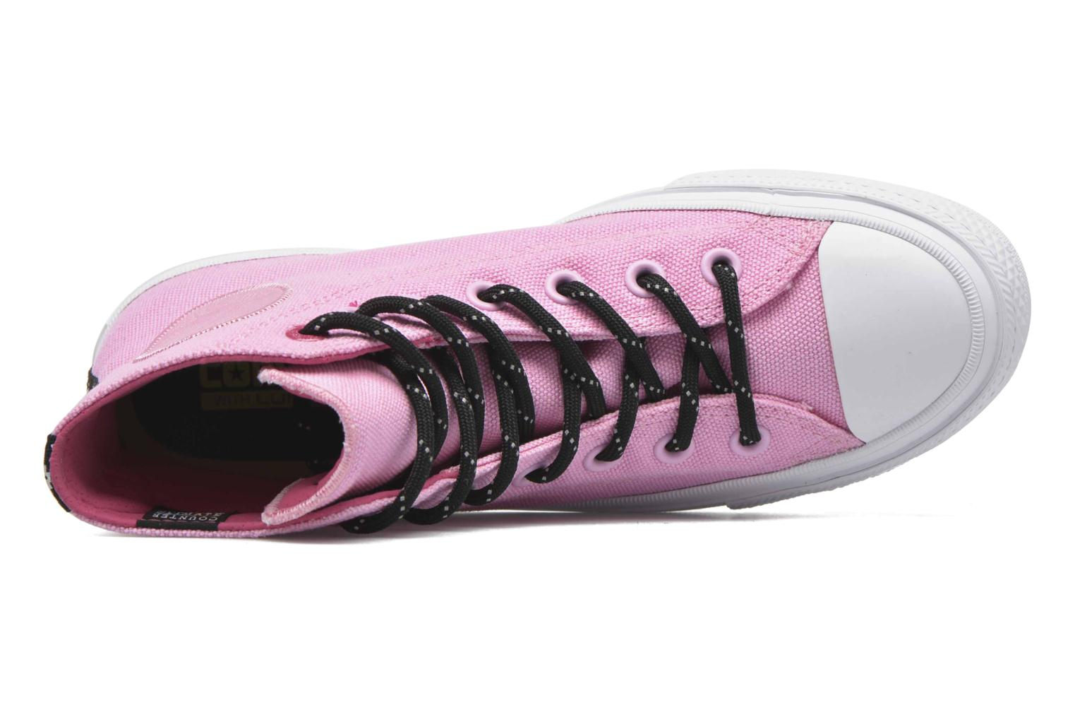 Trainers Converse Chuck Taylor All Star II Hi W Pink view from the left