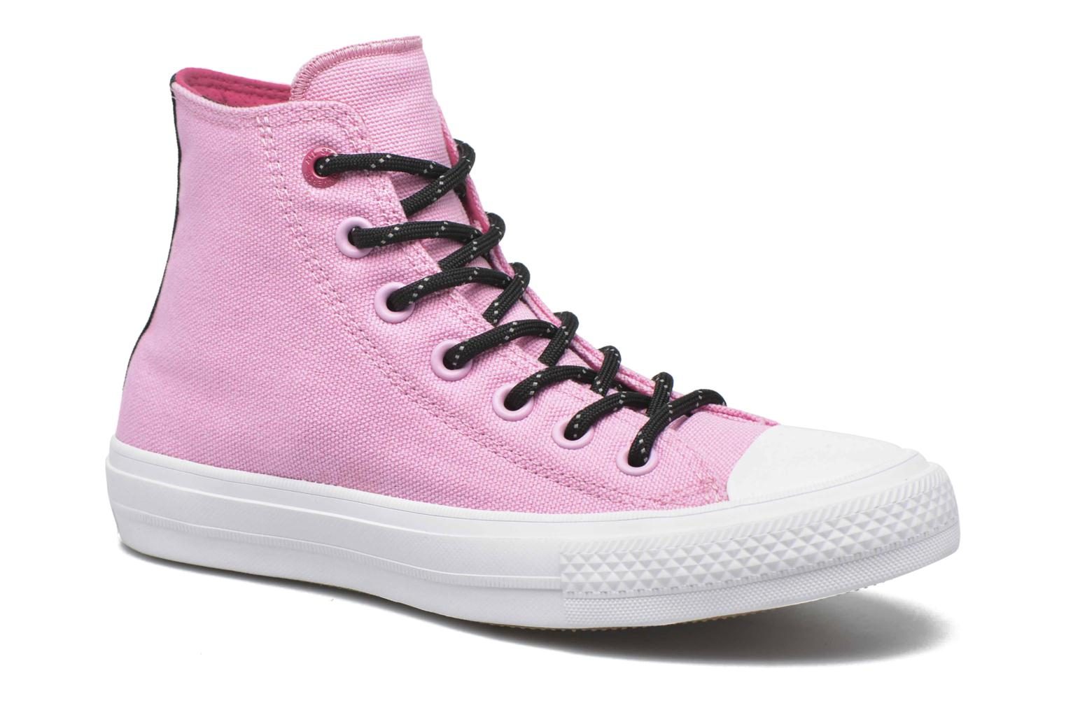 Baskets Converse Chuck Taylor All Star II Hi W Rose vue détail/paire