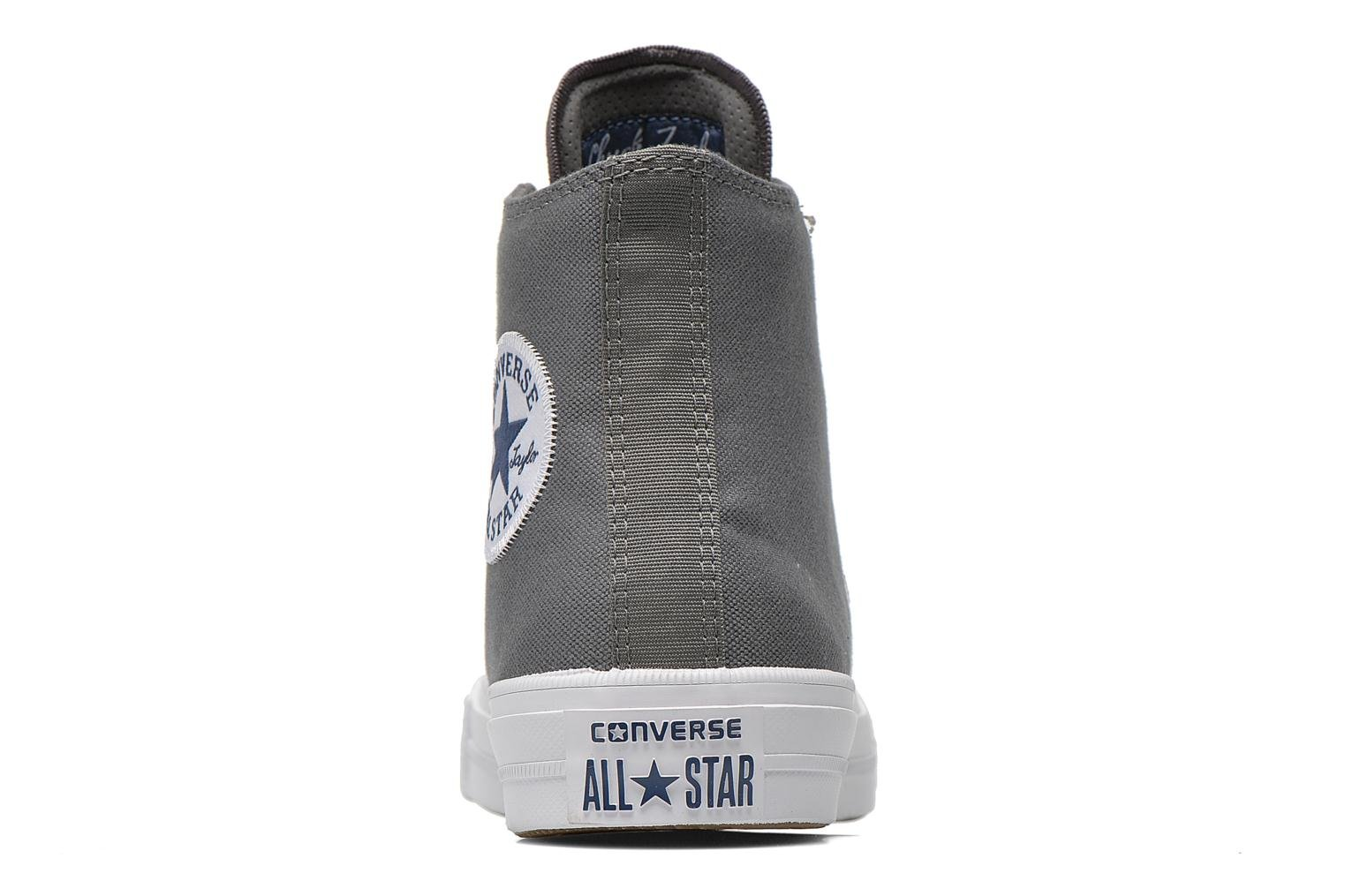 Trainers Converse Chuck Taylor All Star II Hi M Grey view from the right
