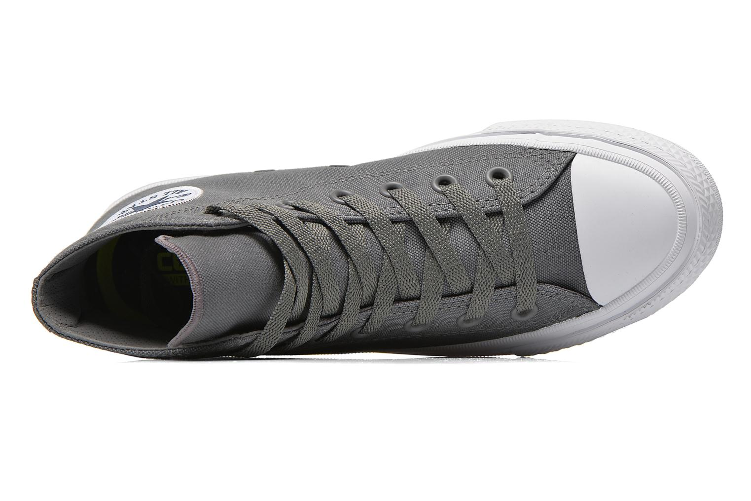 Trainers Converse Chuck Taylor All Star II Hi M Grey view from the left