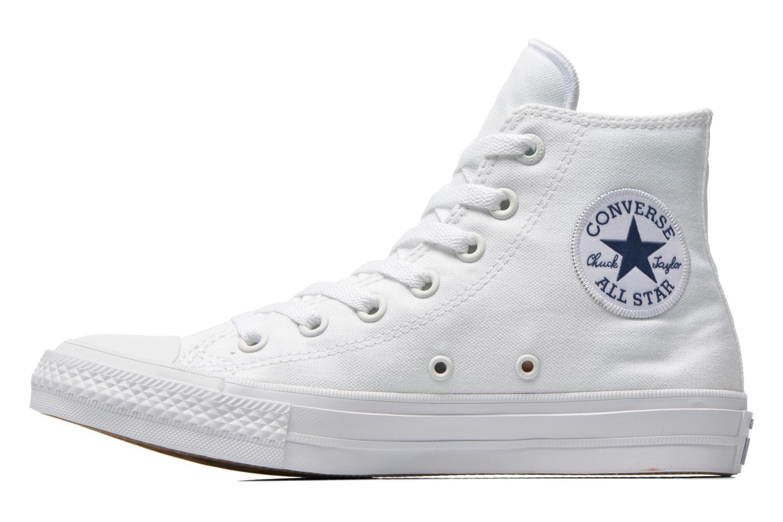 Deportivas Converse Chuck Taylor All Star II Hi M Blanco vista de frente