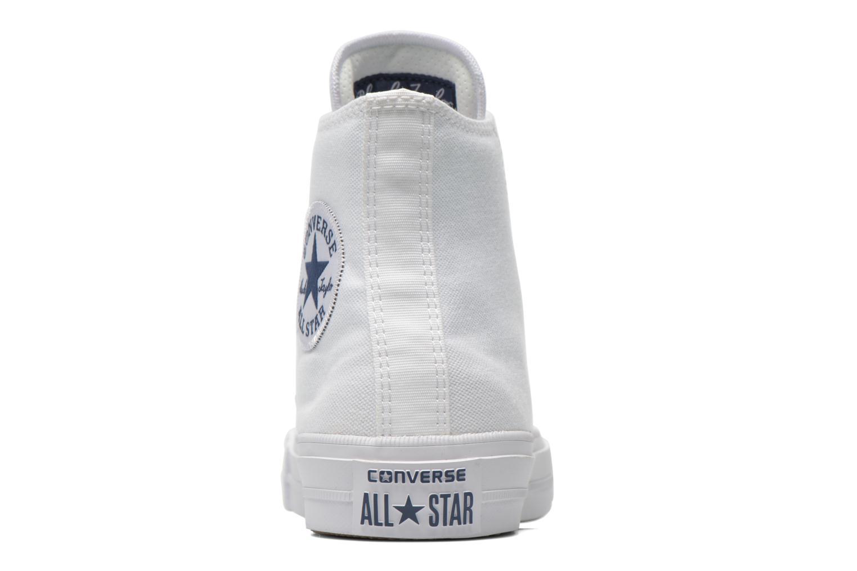 Deportivas Converse Chuck Taylor All Star II Hi M Blanco vista lateral derecha