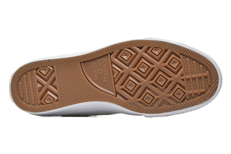 Sneaker Converse Chuck Taylor All Star II Hi M weiß ansicht von oben