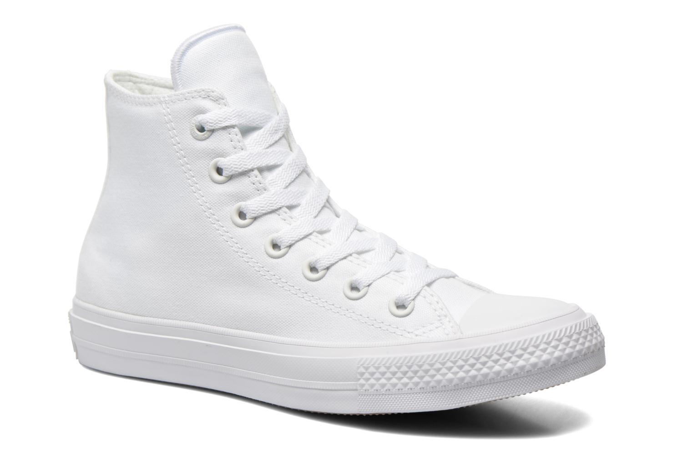 Deportivas Converse Chuck Taylor All Star II Hi M Blanco vista de detalle / par