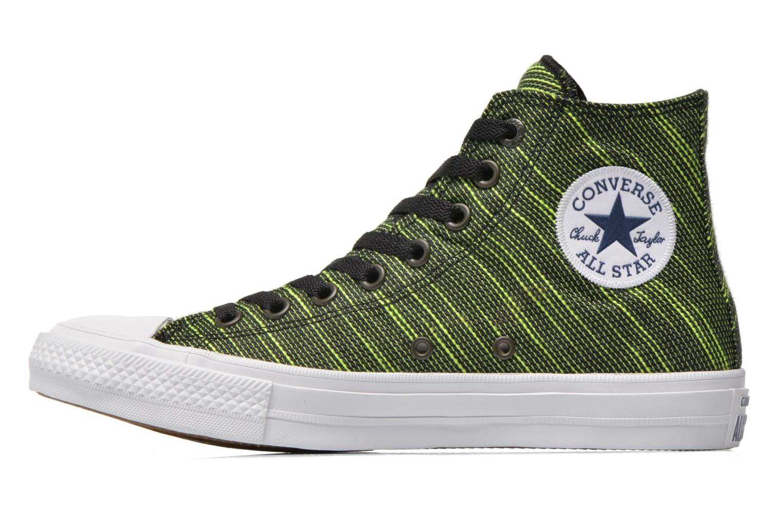 Trainers Converse Chuck Taylor All Star II Hi M Green front view