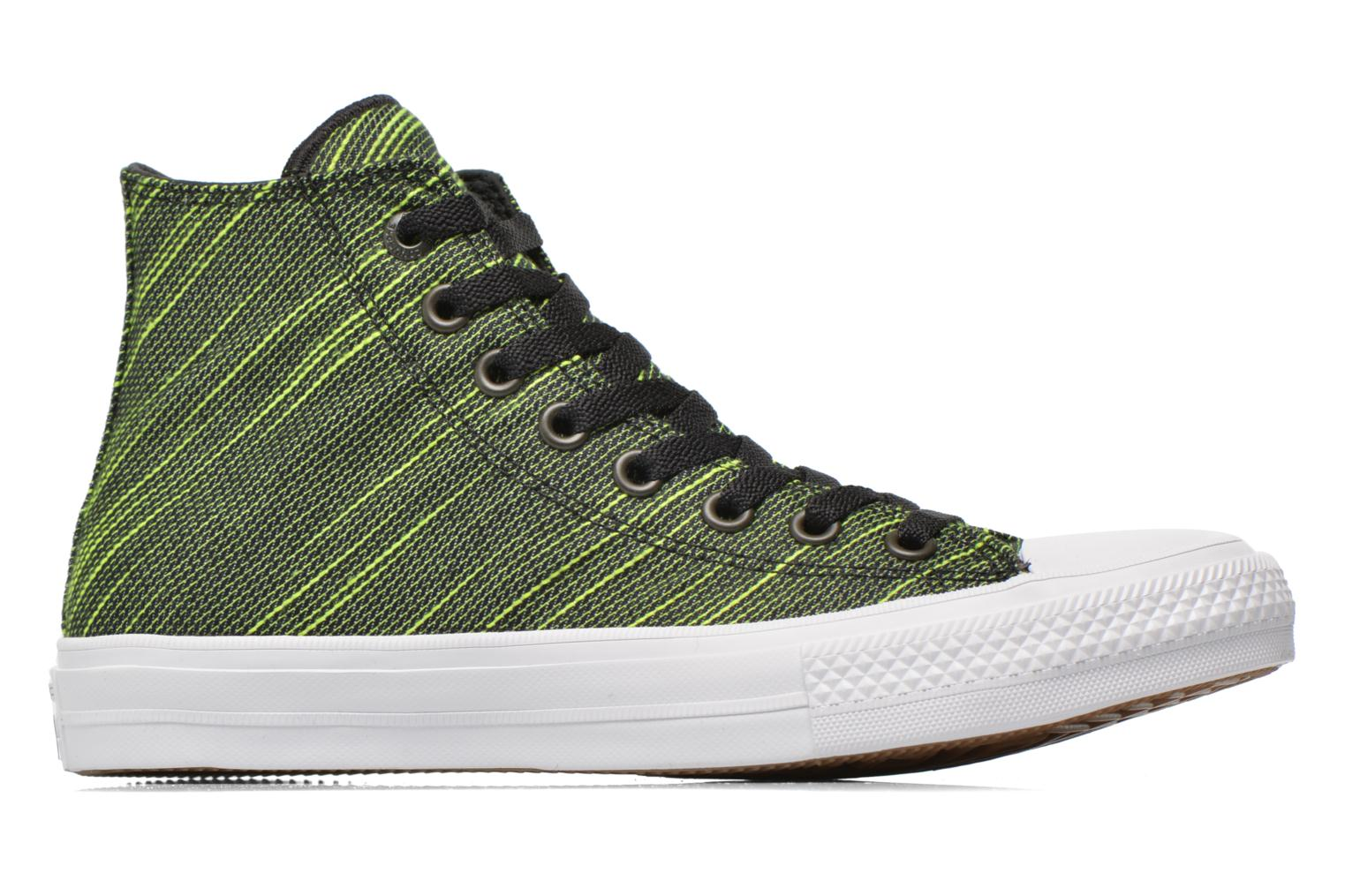Trainers Converse Chuck Taylor All Star II Hi M Green back view