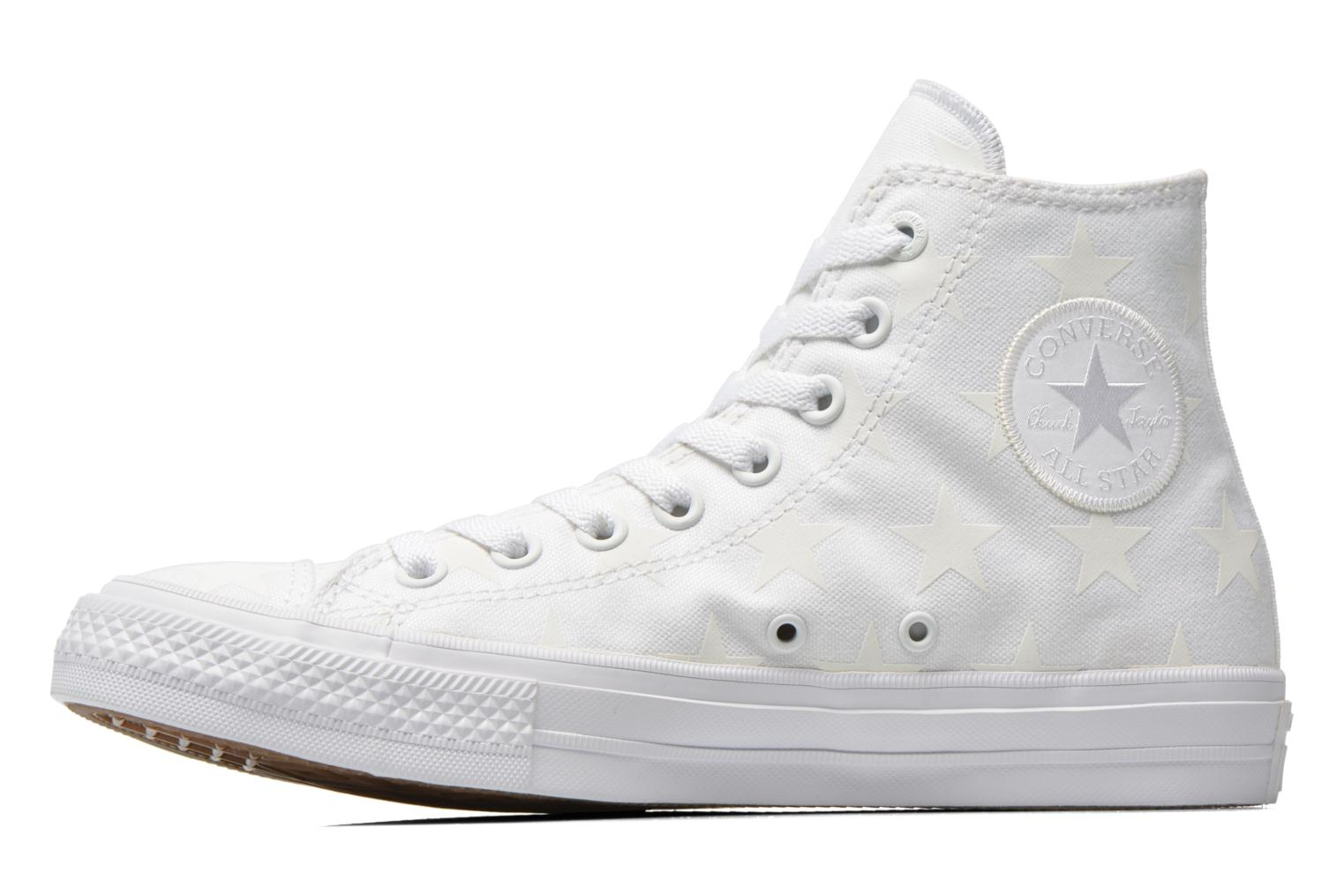 Baskets Converse Chuck Taylor All Star II Hi M Blanc vue face