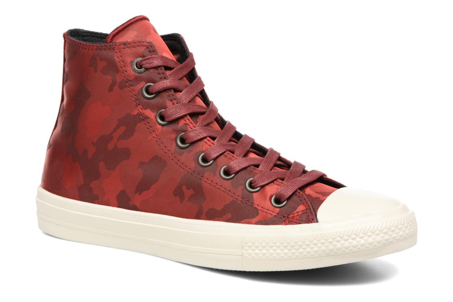 Baskets Converse Chuck Taylor All Star II Hi M Bordeaux vue détail/paire