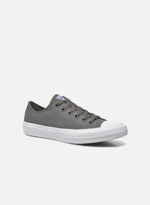 d7b9b559bf71 Converse Chuck Taylor All Star II Ox W (Grey) - Trainers chez ...