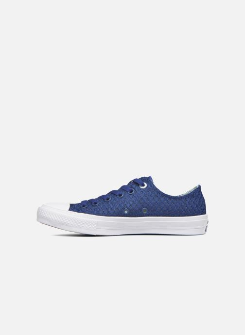 Sneakers Converse Chuck Taylor All Star II Ox W Blå se forfra